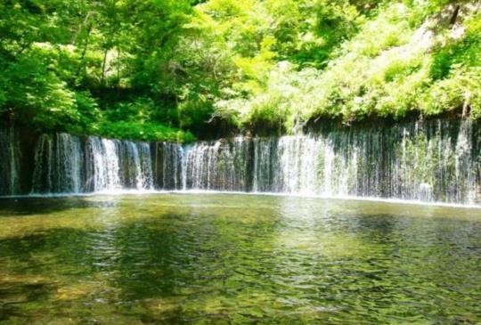 【欣賞大自然包圍之中的景色!輕井澤的必到絕景景點,「白線瀑布」和「雲場池」】