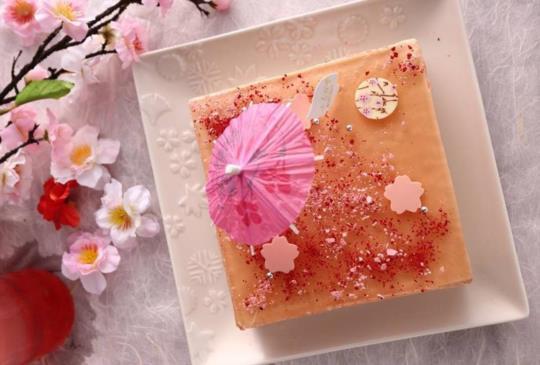 【櫻花季開跑!櫻花迷不可不知.台灣專賣的櫻花甜點】