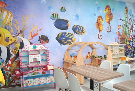 「親子餐廳」糖媽愛分享 超好玩童遊水族館 - 新北林口分館