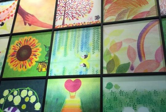 HAPPY HAIR x 克里斯多插畫森林「水彩色鉛筆插畫展」-藝術與美髮設計的結合