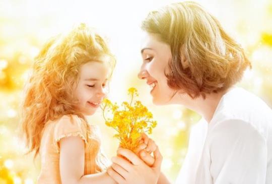 【媽媽的身教重於言教】