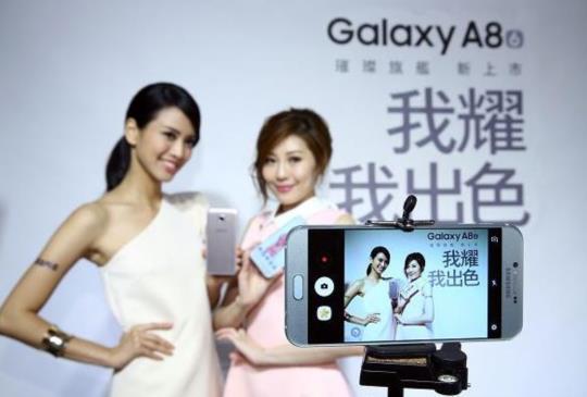相機鏡頭 F1.9 超大光圈,三星 Galaxy A8 搶佔中階手機市場