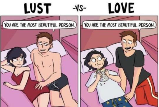 【愛情插畫家這四張圖,一秒看懂男人在愛情裡的想法!】