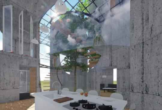 有「青」才敢大聲 全球新銳設計師站出來  第一屆獲獎作品/行為住宅