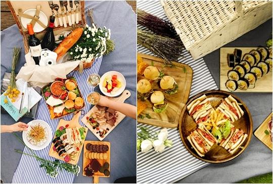 不需要張羅野餐道具,就連優雅餐點都準備好,直接來野餐吧!