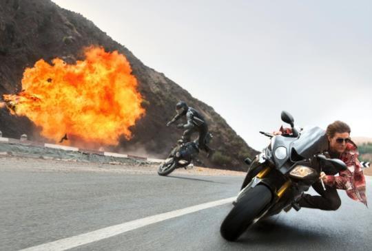 《不可能的任務:失控國度》湯姆克魯斯高標準特技展現驚人體力