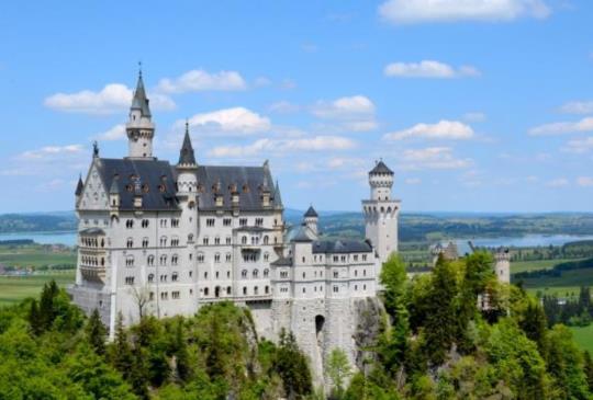 【德國】巴伐利亞高原上的童話浪漫城堡