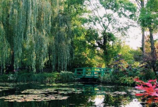 【法國】印象派大師莫內筆下的世界,吉維尼小鎮探訪莫內花園