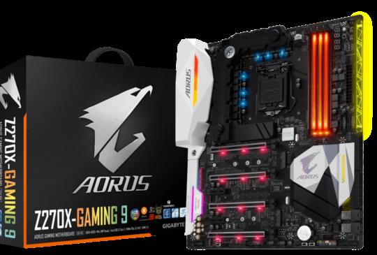 GIGABYTE 技嘉推出 200系列 AORUS 主機板,支援 Intel i6、i7 Core