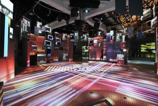 【光影東京360°夢幻視覺系特展】 日本最強光雕團隊打造