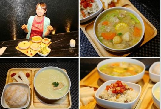 【台中 璞樹文旅 璞SOUP湯品專賣 以湯為主的輕食概念 進入五顏六色的湯品奇幻世界吧】