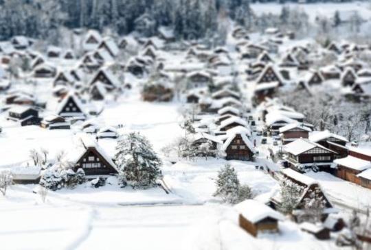 【日本】合掌村:只在冬季限定的白雪童話世界