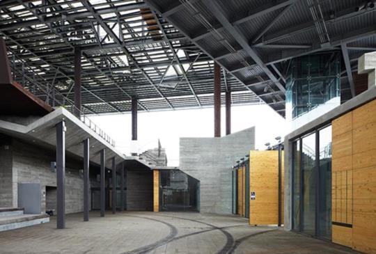 結合歷史與文化意義的新地景-羅東文化工場