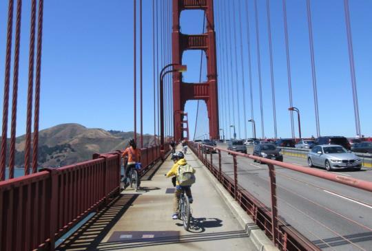 【美國】天涯任我騎,單車遊舊金山