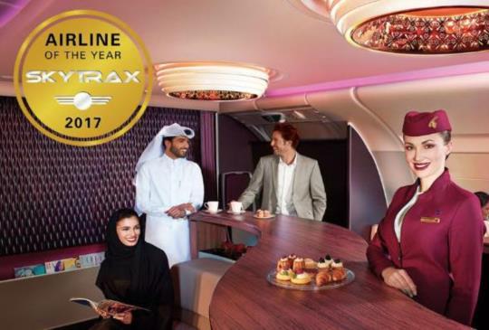 2017全球十大最佳航空公司