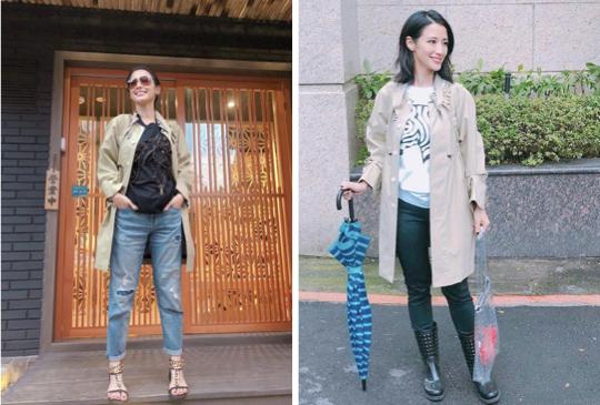 大衣新時尚 美妝教主 李蒨蓉:「被大衣壓扁扁?嬌小女『偷身高』關鍵秘訣」