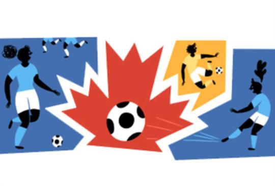 Google Doodle 之女子世界盃足球賽來了!可惜台灣未能晉級參賽