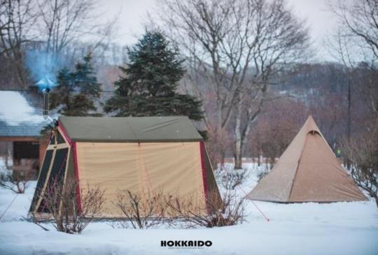北海道【苫小牧ARTEN露營區】海外雪地露營觀摩