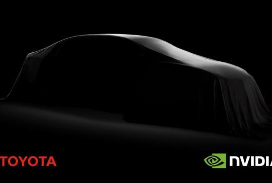 NVIDIA 宣布與 Toyota 合作,加速自駕車市場應用導入