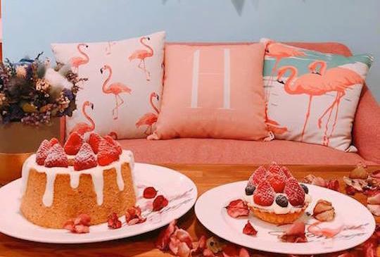 每款甜點都像藝術品般賞心悅目~網美咖啡廳Hera Cafe