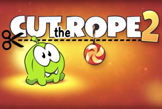 【 iOS 限時免費】Cut the Rope 2 首次免費發送中