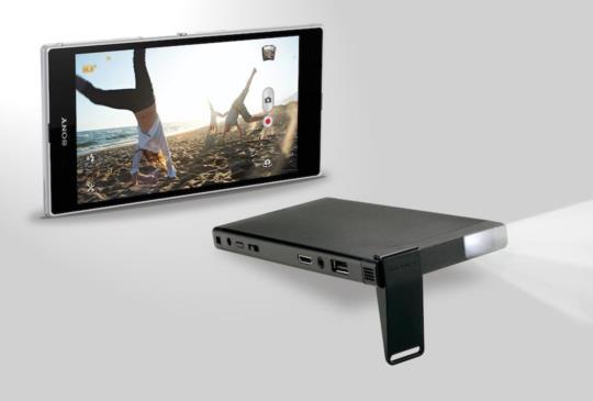 Sony 行動微型投影機 MP-CL1 在台推出,售價新台幣 11,900 元