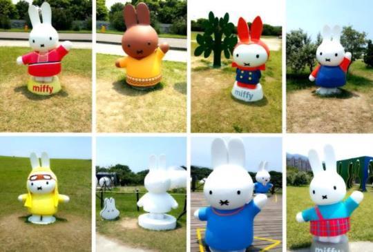 【暑假無處去?快來八里找米飛兔!】