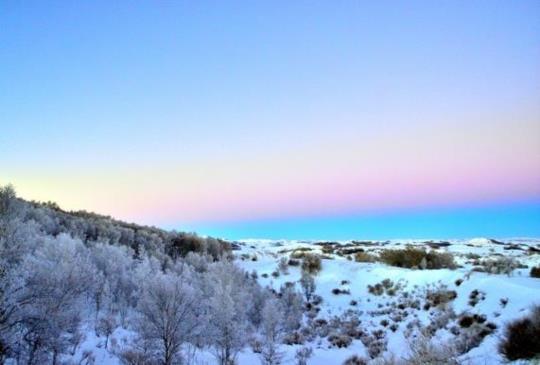內蒙壩上之旅-日出與日落