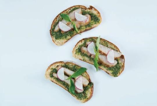 【自製星級主廚松阪豬肉三明治以及百搭塔塔醬】
