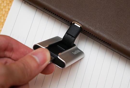 iPhone 容量不再是問題,SanDisk iXpand「雙頭龍」隨身碟初體驗