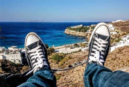 【希臘.Mykonos】米克諾斯島:藍海中的白寶石