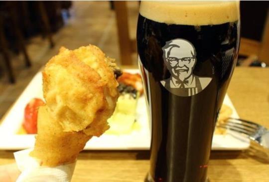 【日本限定‧是酒吧還是肯德基?速食店大變身,給你全新感受】~日本美食特搜