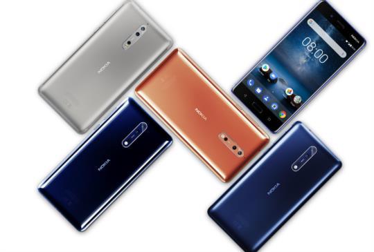 HMD Global 發表新旗艦 Nokia 8,搭載原生 Android Nougat 7.1.1