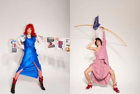 用樸克牌傳達世界和平理念,要時尚也要愛護地球