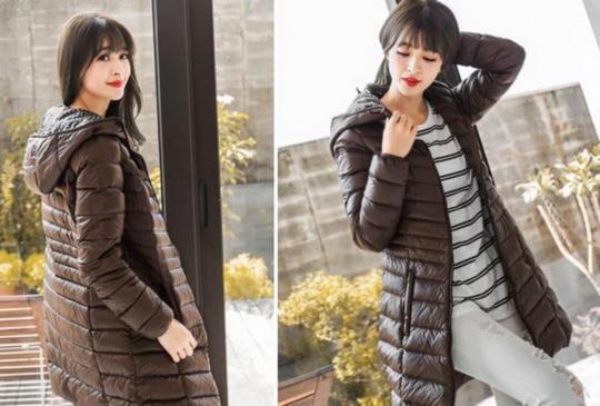 【學韓國明星穿搭 】 抗寒顯瘦的羽絨大衣