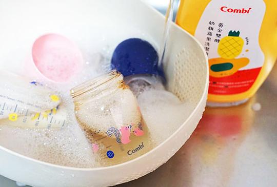 洗奶瓶一定要用「奶瓶清潔劑」?寶寶安全、媽媽放心不傷手的全攻略,快來跟奶臭奶垢說掰掰~