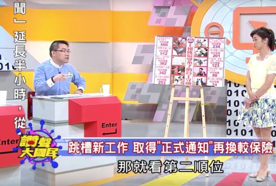 2015.09憲哥錄TVBS讚聲大國民-小白領跳槽求生術