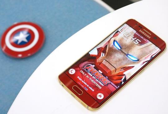 Samsung GALAXY S6 Edge 鋼鐵人限量版寫真圖賞,叫人怎能不心動?