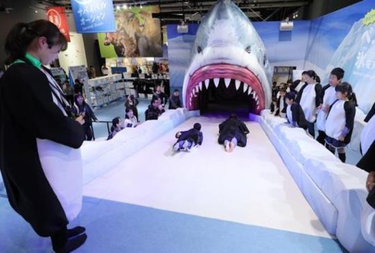孩子的玩樂天堂 日本最夯親子活動  「變變變!MOVE生物體驗展」