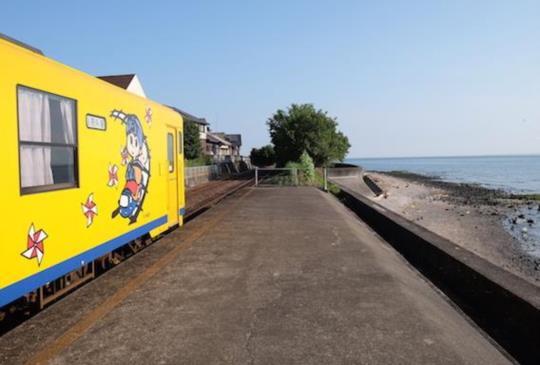 【長崎】私房景點,兩個臨海的浪漫小站