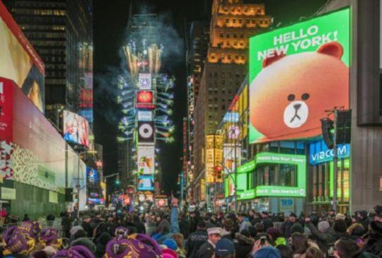 紐約也看得到熊大,LINE FRIENDS 將進軍紐約時代廣場設點!