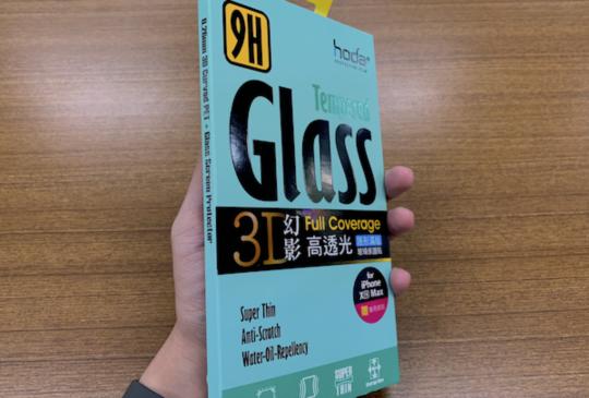 美麗與防護兼具的:hoda 幻影 3D 滿版玻璃保護貼