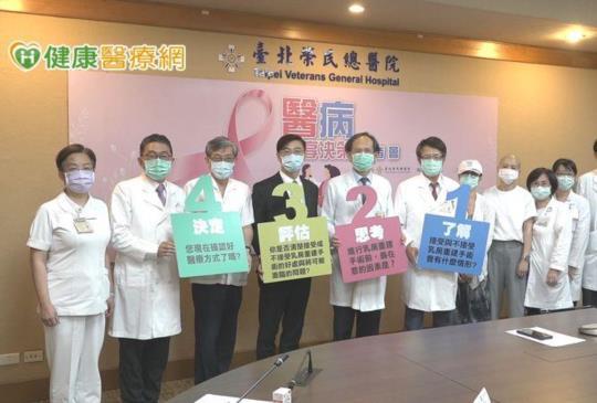 北榮推「醫病共享決策樹」 乳癌治療不再充滿未知數