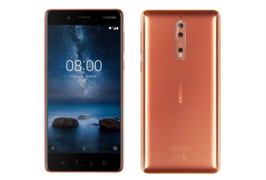 Nokia 8 手機新色「光箔銅」上市, 各種推廣活動正式展開