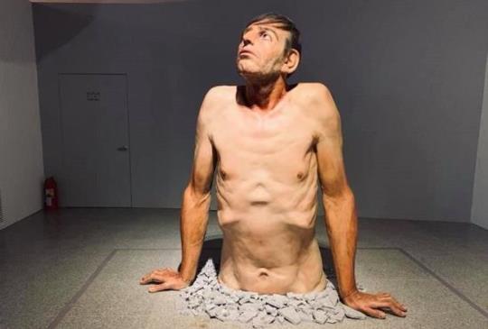「幾可亂真|超寫實人體雕塑展」今夏震撼人心的雕塑作品!