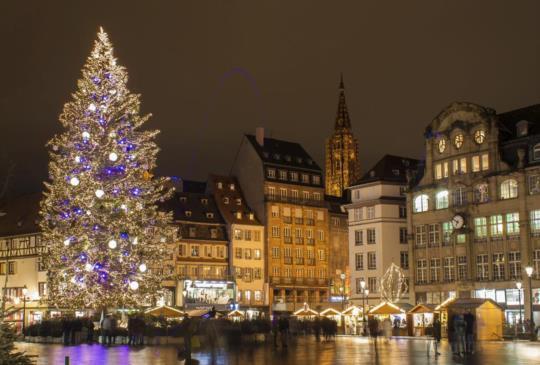【開逛啦!最古老的法國史特拉斯堡聖誕市集開始了!】