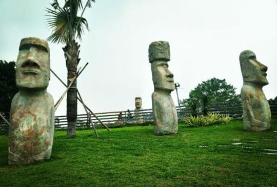 【桃園大溪】嘿!在台灣能夠再次遇見,擁有神話般秘密的摩艾石像~