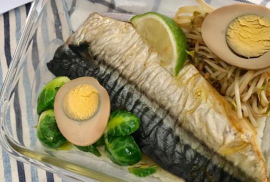 全聯食譜之爸爸回家做晚飯 - 香烤鯖魚片