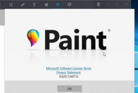 將來在 Windows 10 上的「小畫家」,功能升級,可設計 3D 圖像