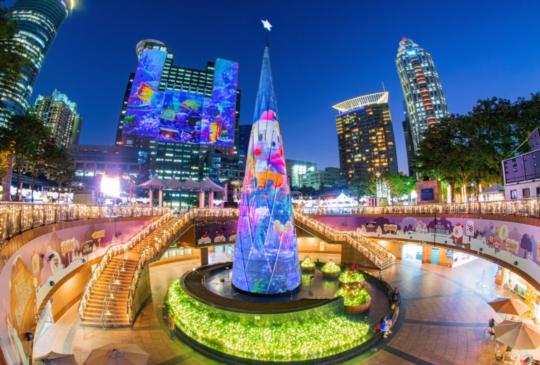 【2019浪漫耶誕景點】冰雪奇緣+角落小夥伴聖誕樹搶先拍!